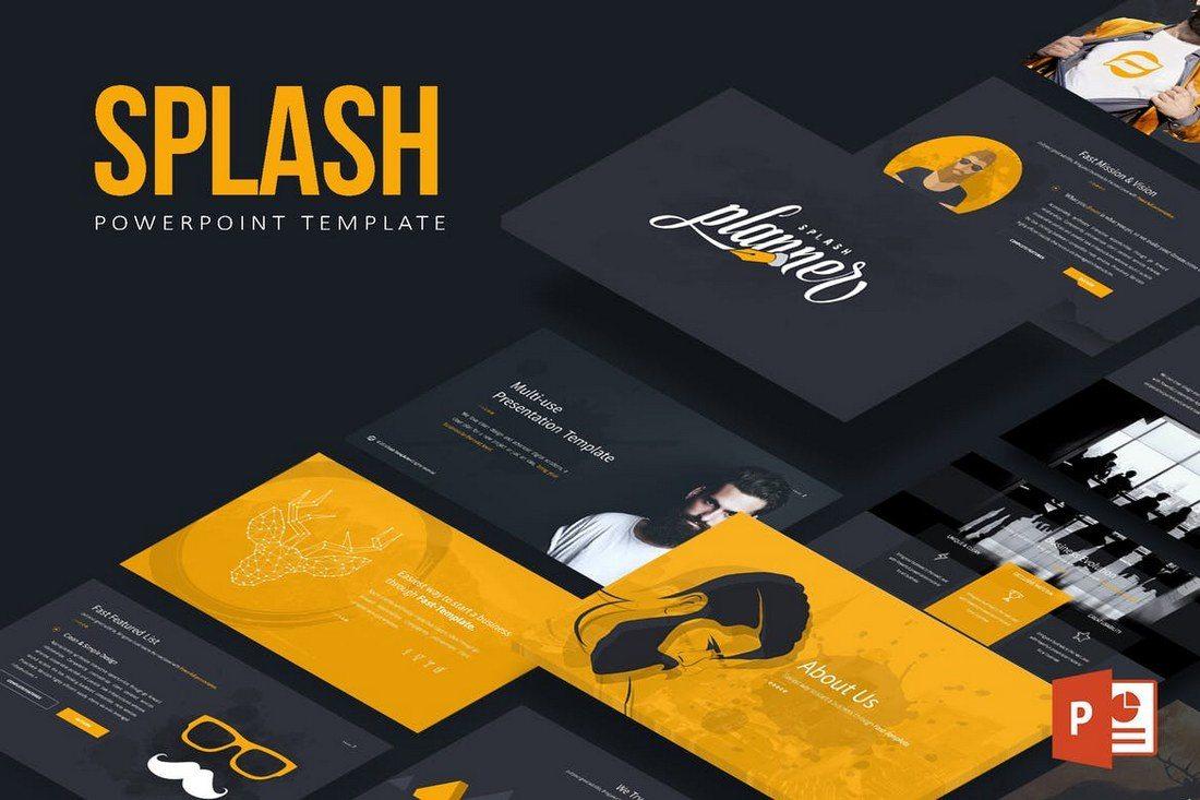 Splash-Powerpoint-Template 50+ Best PowerPoint Templates of 2020 design tips