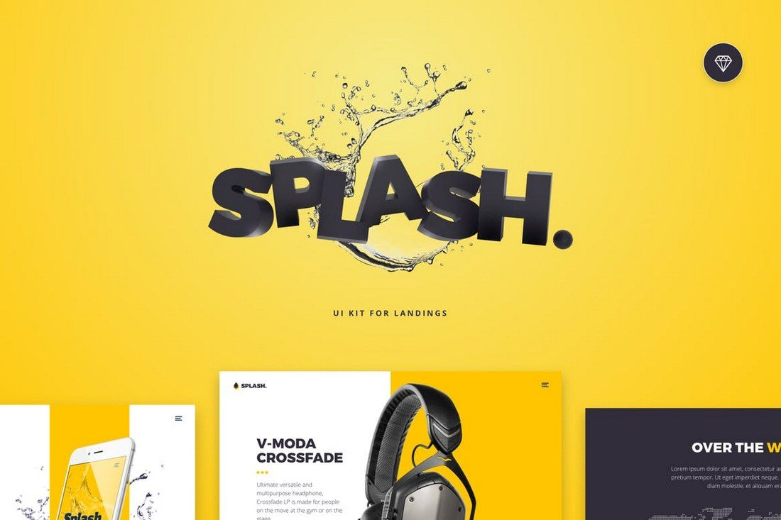 Splash-UI-Kit-for-Sketch 30+ Best Sketch Templates of 2019 design tips