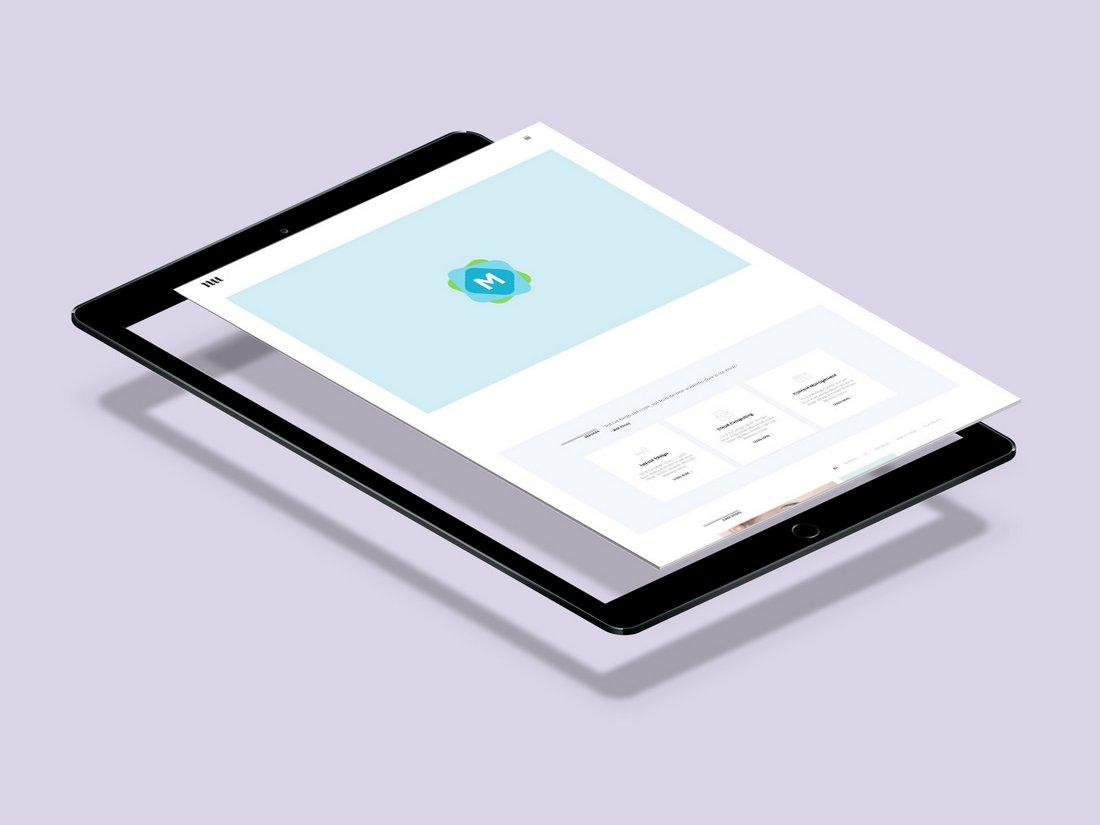 Split iPad Pro Mockup