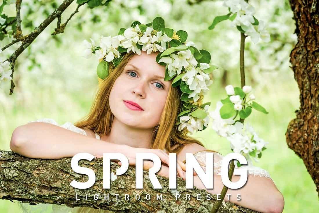 Spring Lightroom Presets
