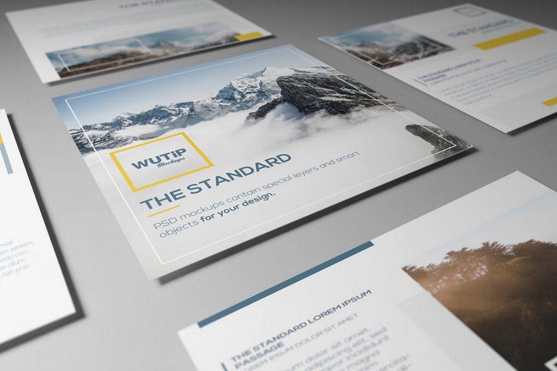 Square-Flyer-Mockups 30+ Best Isometric Mockup Templates design tips
