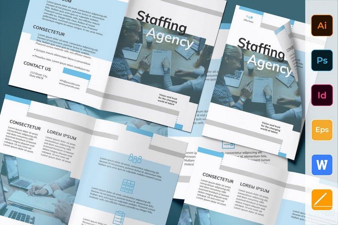 Staffing Agency Bi-Fold Brochure
