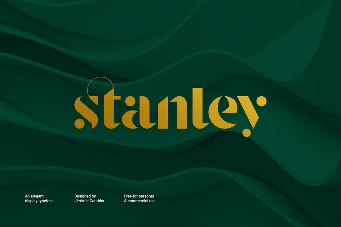 Stanley-Free-Display-Poster-Font 30+ Best Fonts for Posters design tips