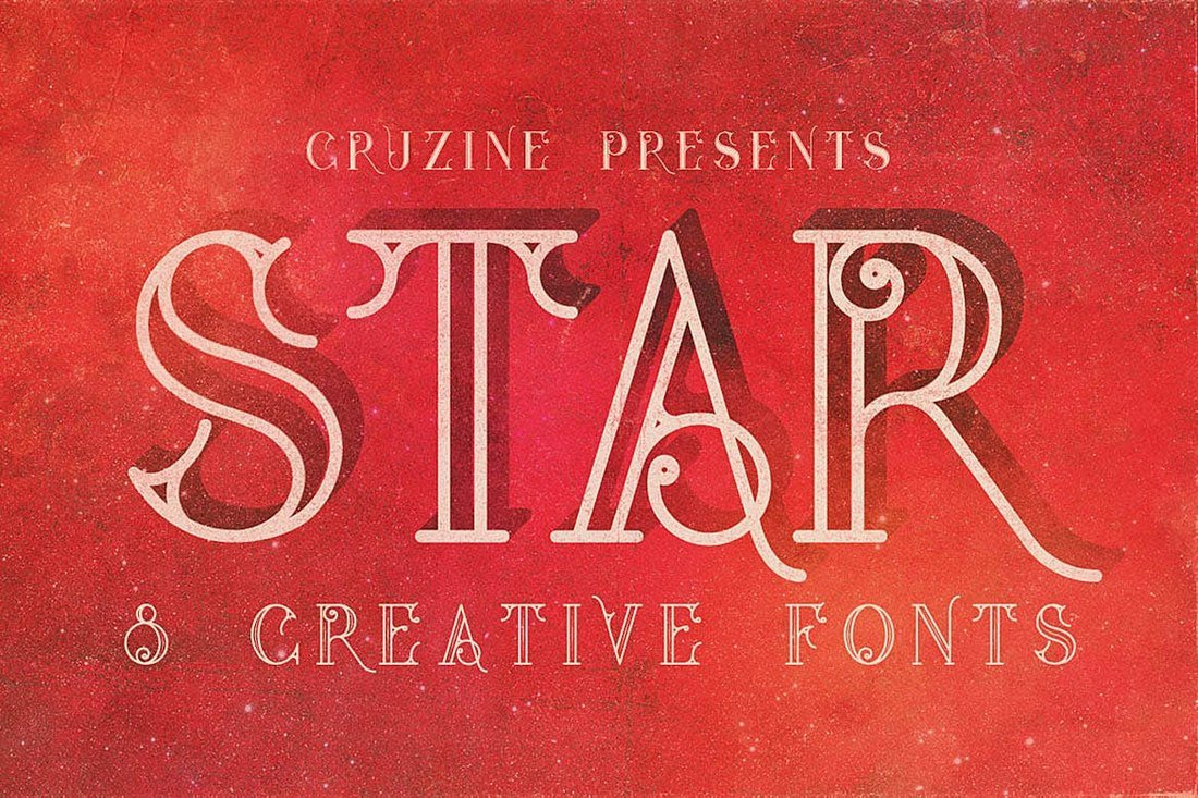 Star-Creative-Tattoo-Font 20+ Best Tattoo Fonts & Lettering design tips