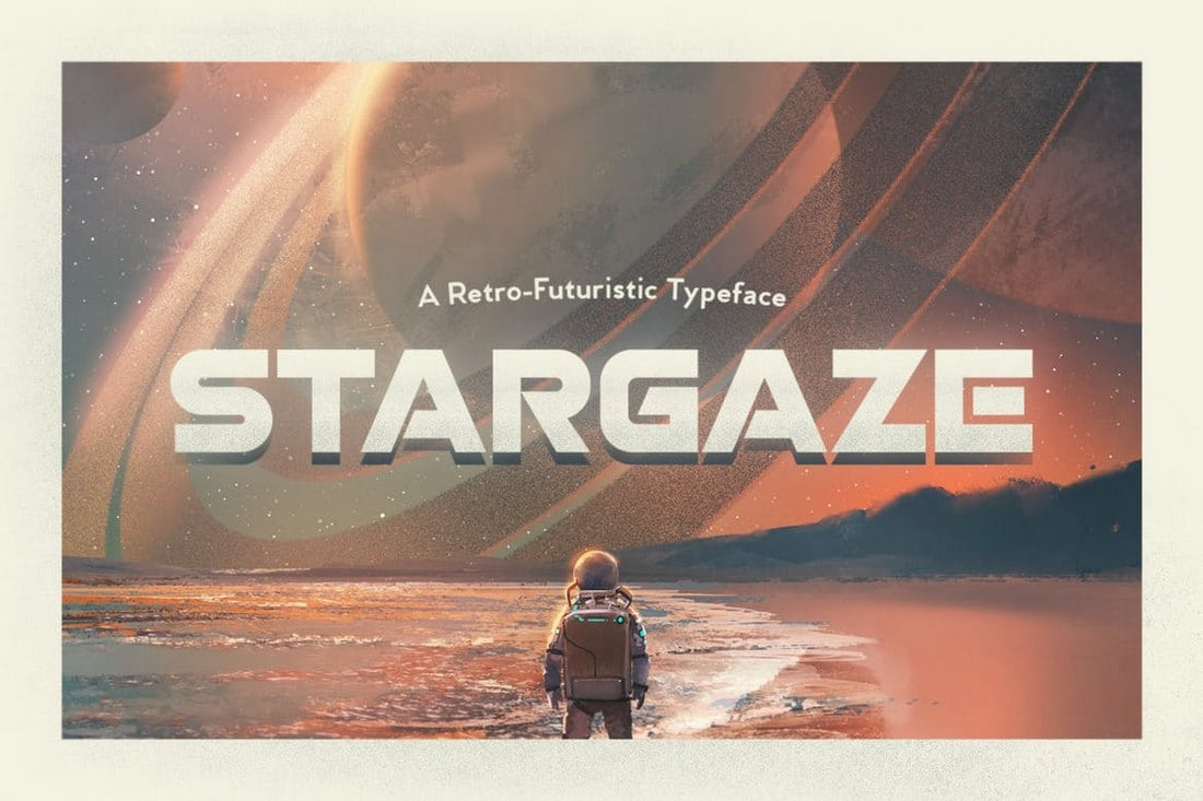 Stargaze-Typeface-1 30+ Best Stencil Fonts design tips