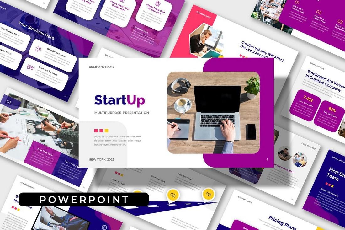 Start Up - Multipurpose Powerpoint Template