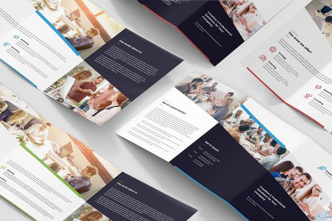 Startup-Studio-Brochure-Template 20+ Best InDesign TriFold Templates 2020 design tips  Inspiration