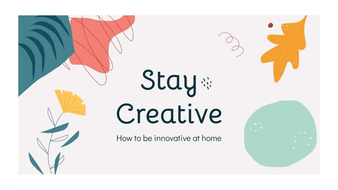Stay Creative - Free Google Slides Presentation