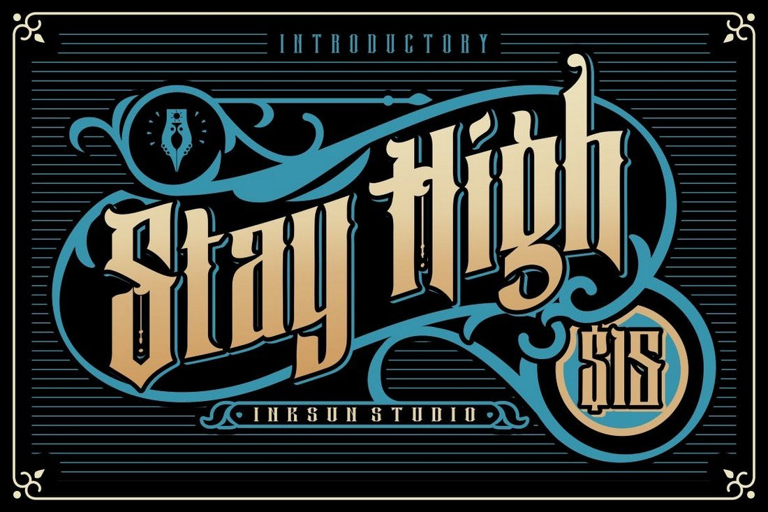 Stay High Gothic Font
