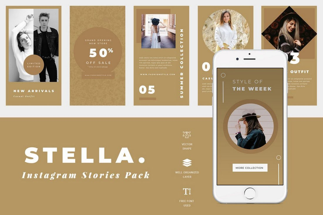 Stella-Instagram-Story-Templates 30+ Best Instagram Templates & Banners design tips
