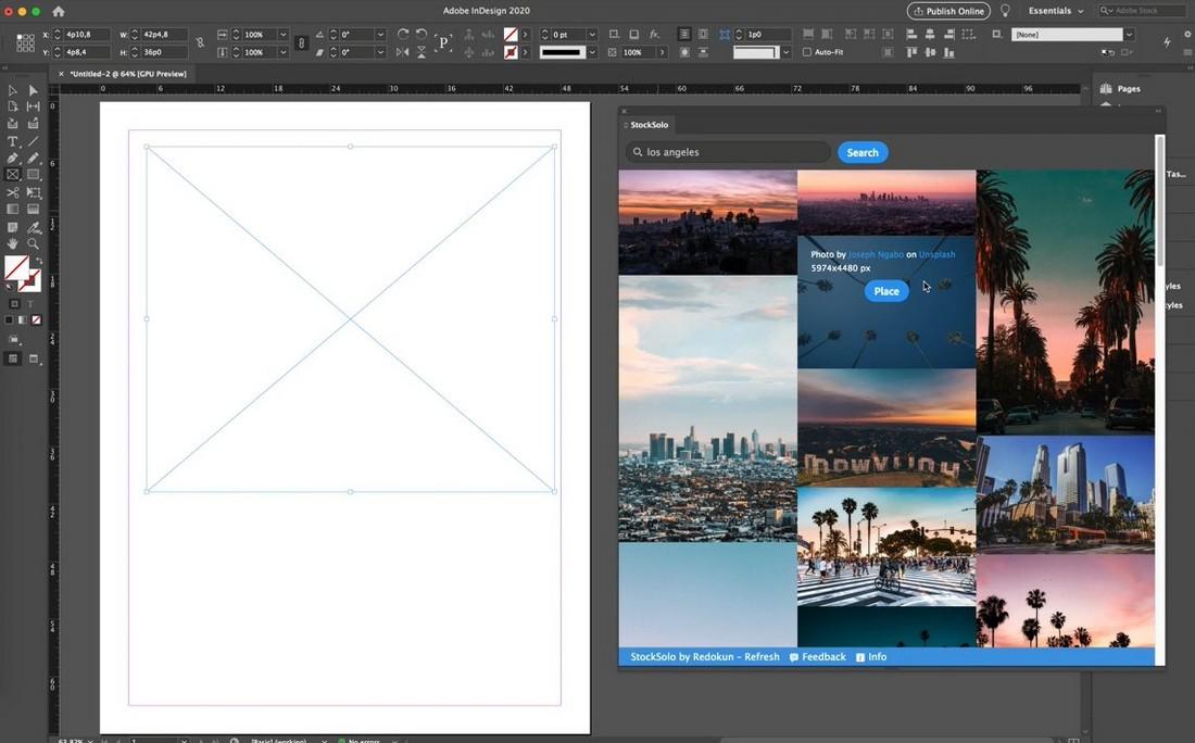 Stocksolo - Free Photoshop Plugin for Stock Photos