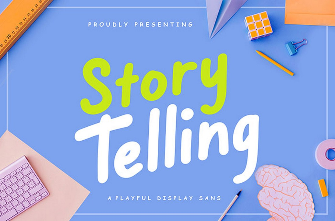 Story Telling - Free Rounded Font