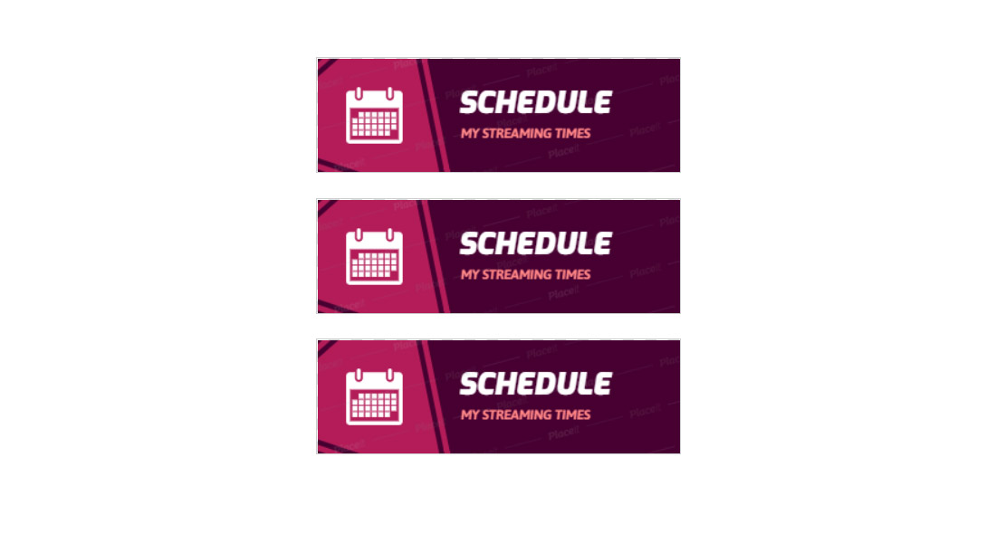 Stream-Schedule-Twitch-Panel-Template 15+ Best Twitch Panel Templates & Makers 2021 (Free & Premium) design tips