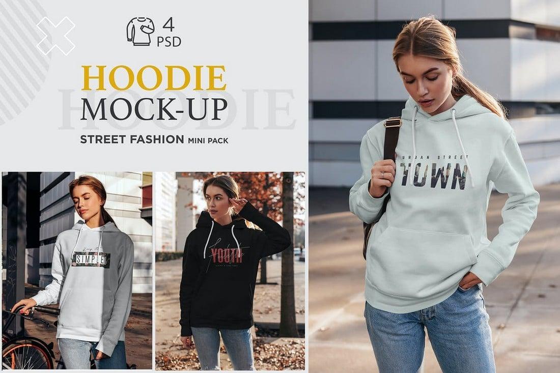 Street-Fashion-Hoodie-Mockups 20+ Hoodie Mockup Templates (Free & Premium) design tips  Inspiration
