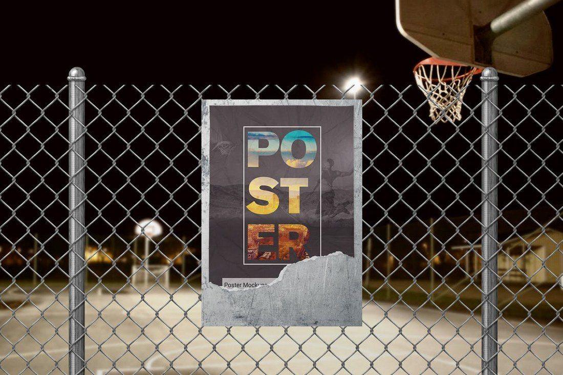Street-Poster-Mockups 30+ Best Poster Mockup Templates 2021 design tips