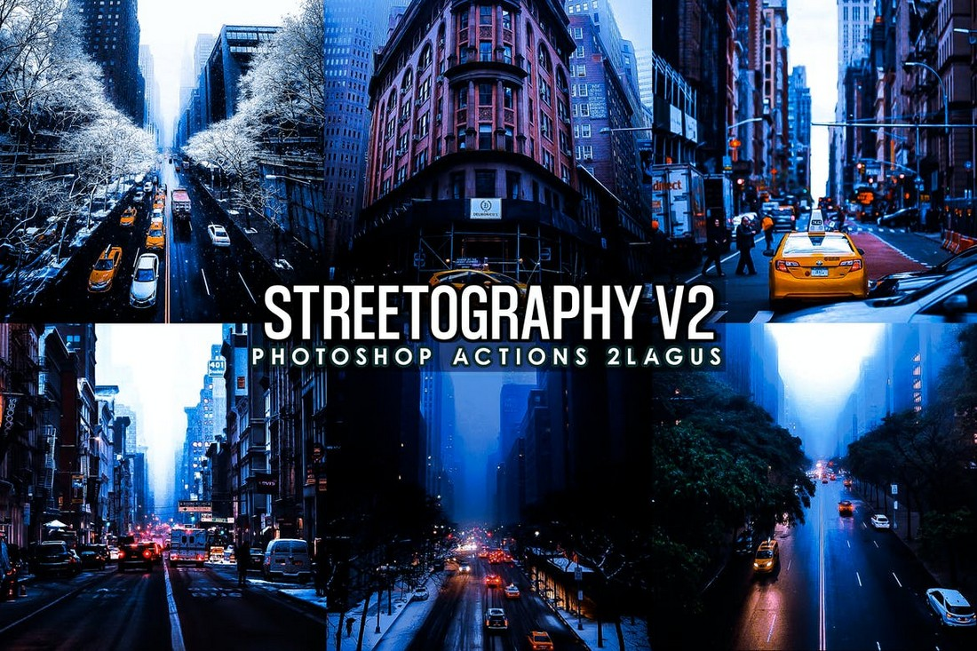 Streetographie - Cinematic Photoshop Actions