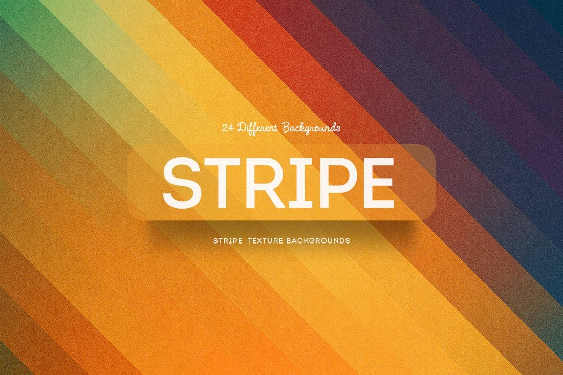 Stripe Texture Rainbow Backgrounds