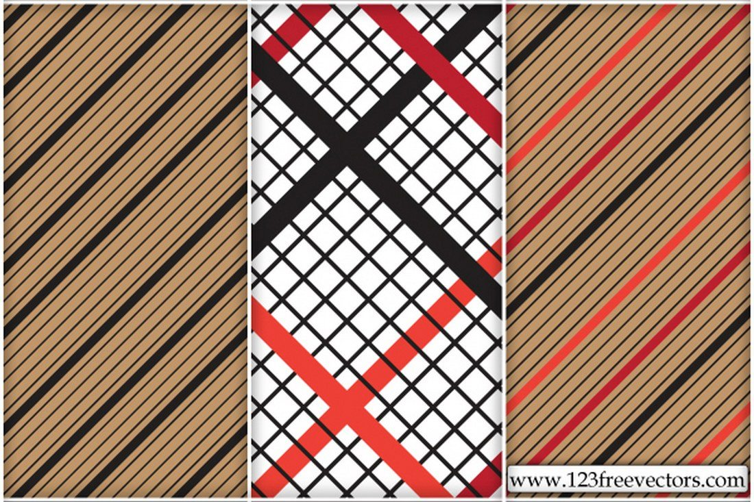 Striped-Checkered-Pattern 30+ Best Line Patterns & Textures design tips