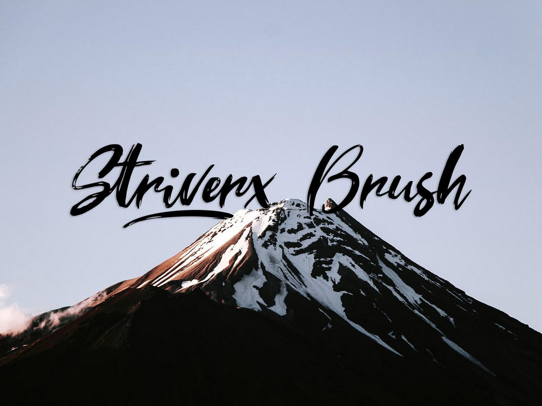 Striverx-Brush-Script-Free-Font 25+ Free Brush, Script & Hand Lettering Fonts design tips