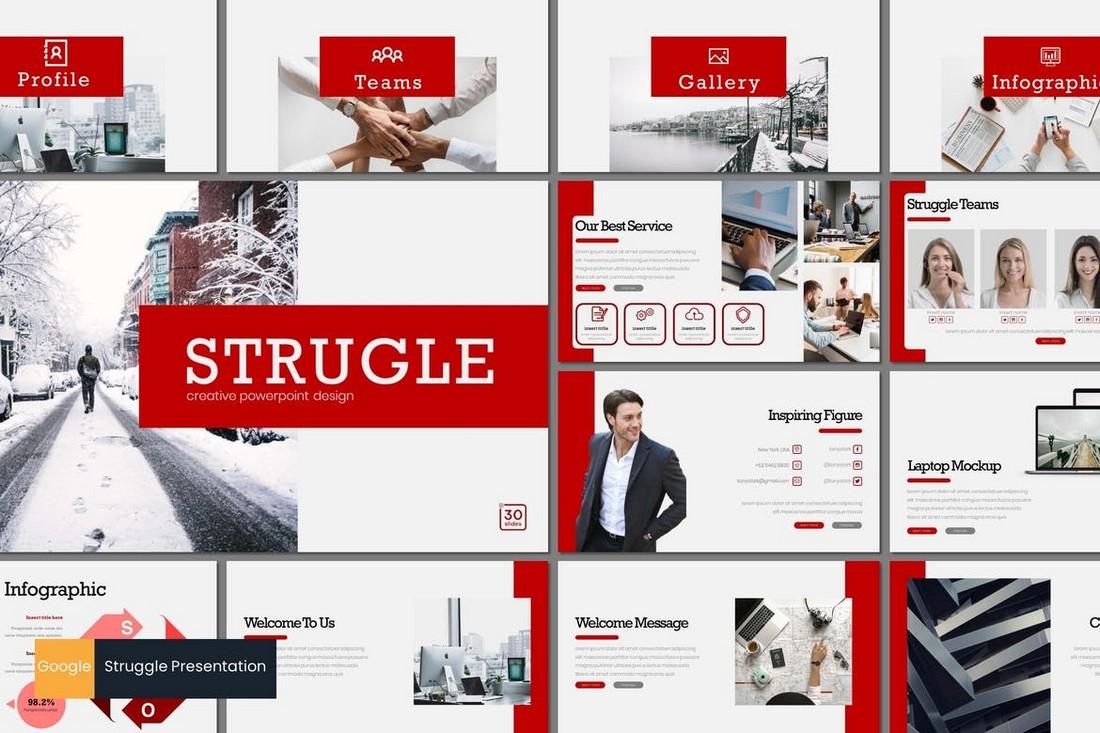 Struggle - Business Google Slides Template
