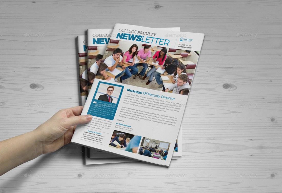 Student-School-Newsletter-Template 20+ School Newsletter Templates design tips