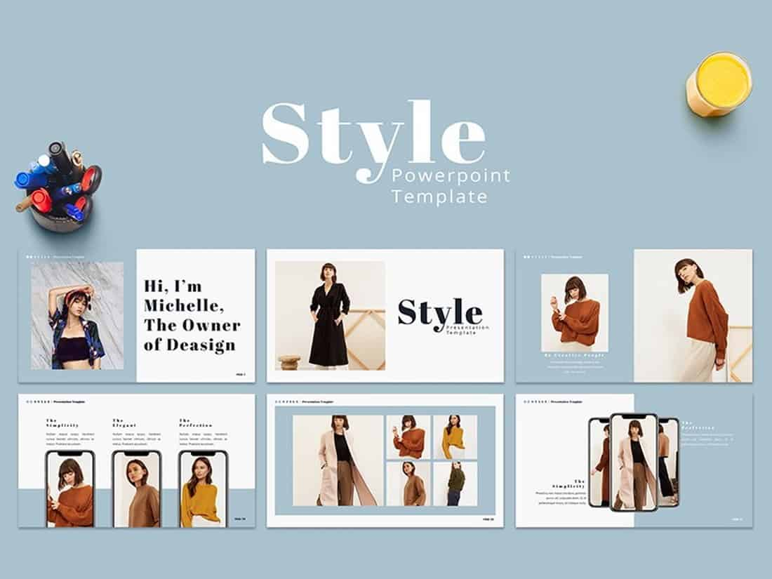 Style - PowerPoint Presentation Template