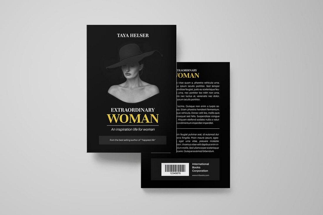 Stylish Book Cover Mockup