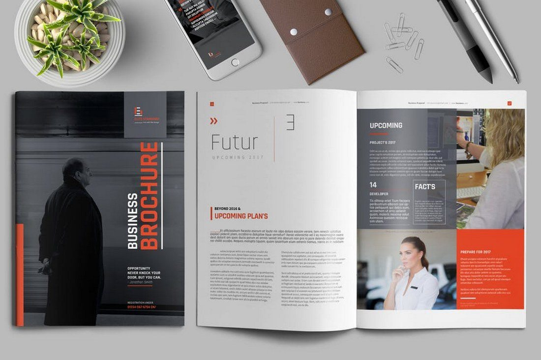 30 really beautiful brochure designs templates for.html