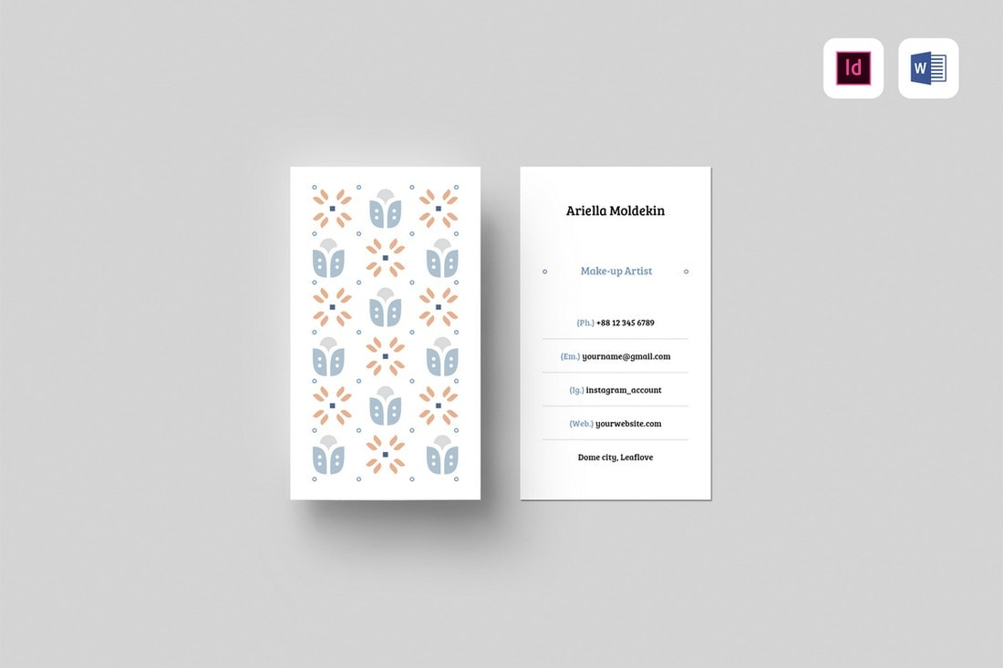 Stylish-Business-Card-Template 20+ Business Card Templates for Google Docs (Free & Premium) design tips