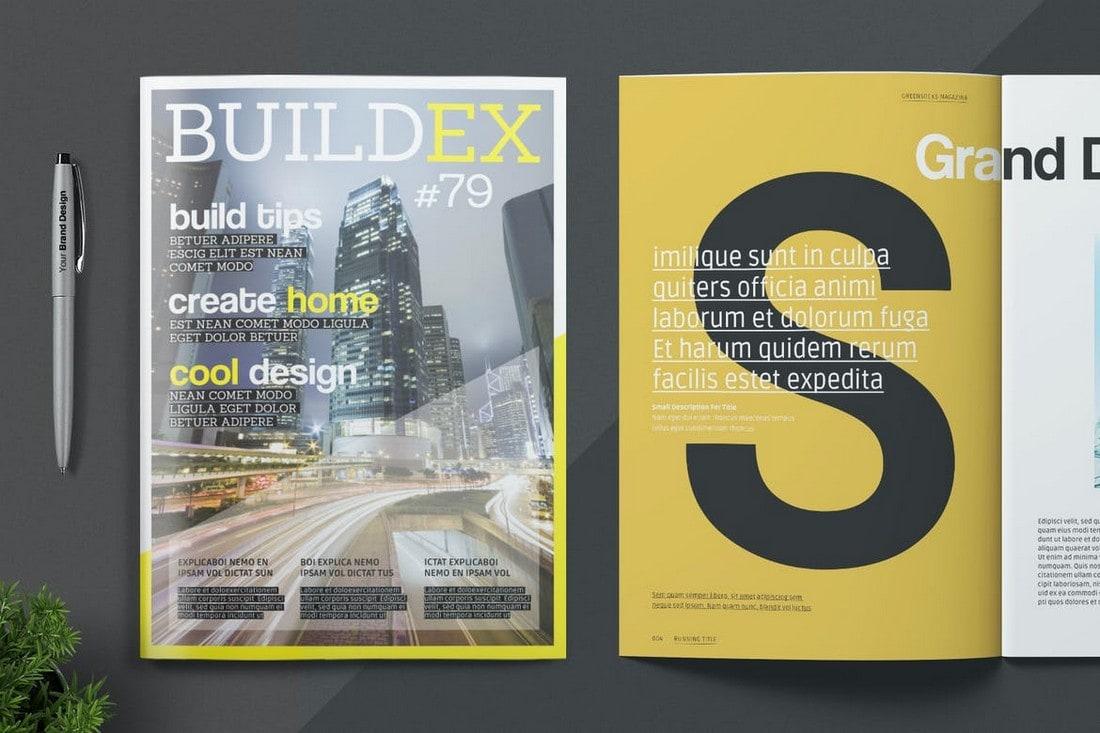 Stylish-InDesign-Magazine-Template 30+ Best InDesign Magazine Templates 2021 (Free & Premium) design tips