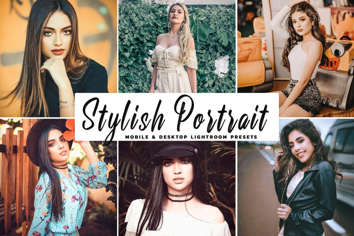 Stylish-Portrait-Pro-Lightroom-Preset 50+ Best Lightroom Presets for Portraits (Free & Pro) 2020 design tips