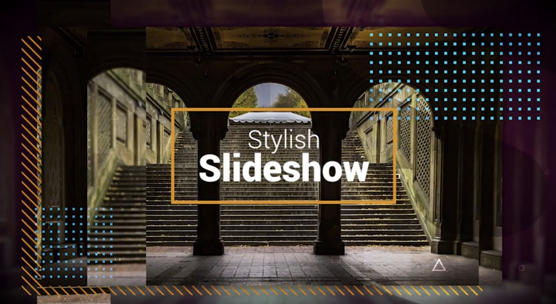 Stylish Slideshow - Premiere Pro Template