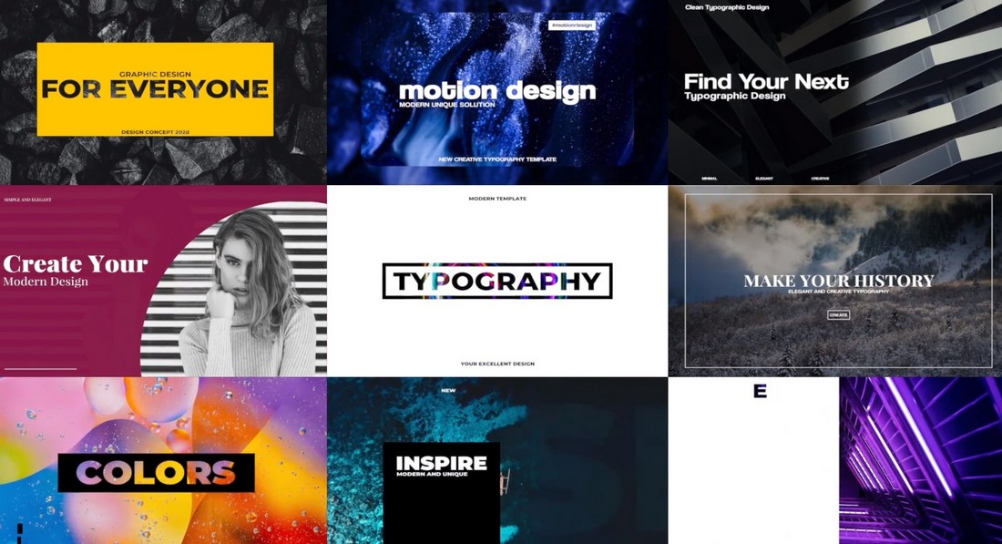 Stylish Typography - Final Cut Pro Title Templates