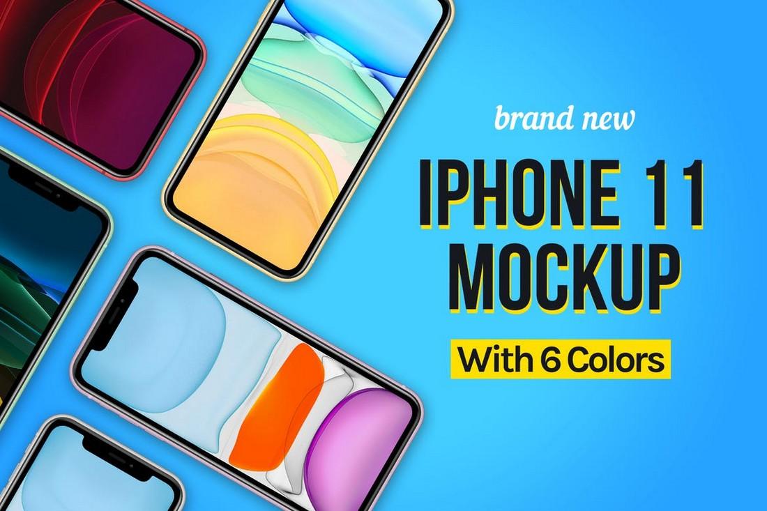 Stylish iPhone 11 Mockup