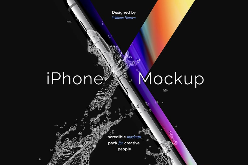 Stylish-iPhone-X-Mockup 30+ Best iPhone X Mockups (PSD, AI & Sketch) design tips