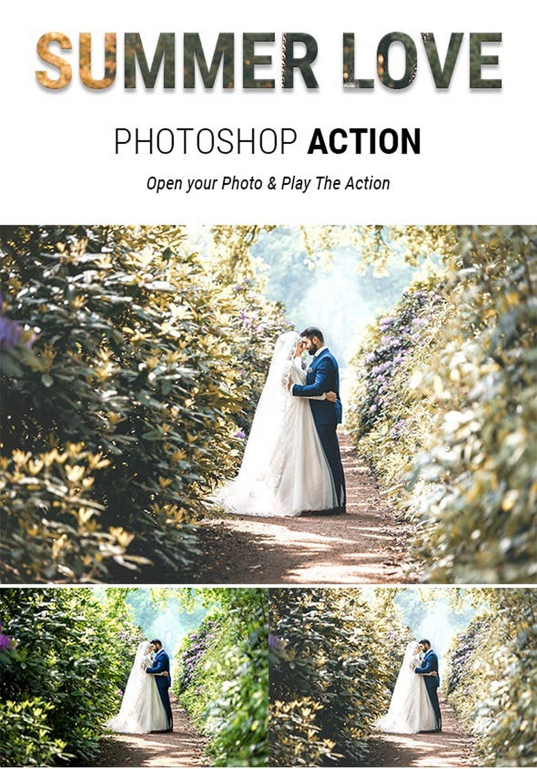 Summer Love - Mariage Photoshop Actions Photoshop