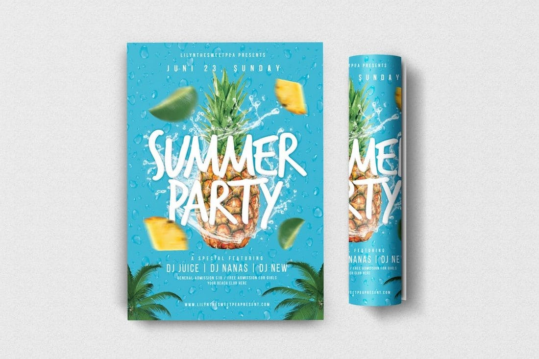 Summer-Party-Flyer 30+ Best Event Flyer Templates design tips