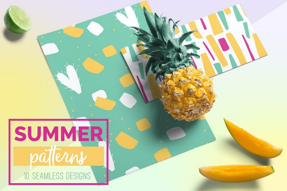 Summer Seamless Patterns