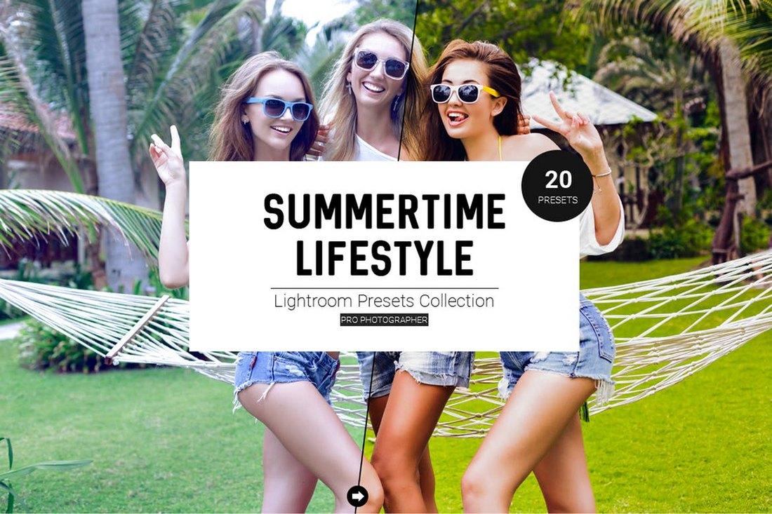 Summertime-Lifestyle-LR-Presets 40+ Best Landscape Lightroom Presets 2020 design tips  Inspiration|landscape|lightroom