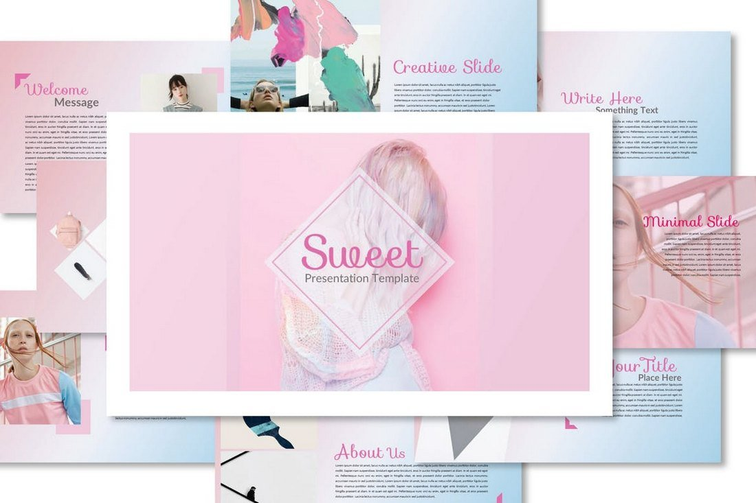 Sweet-Cool-Powerpoint-Template 20+ Best Cool PowerPoint Templates design tips
