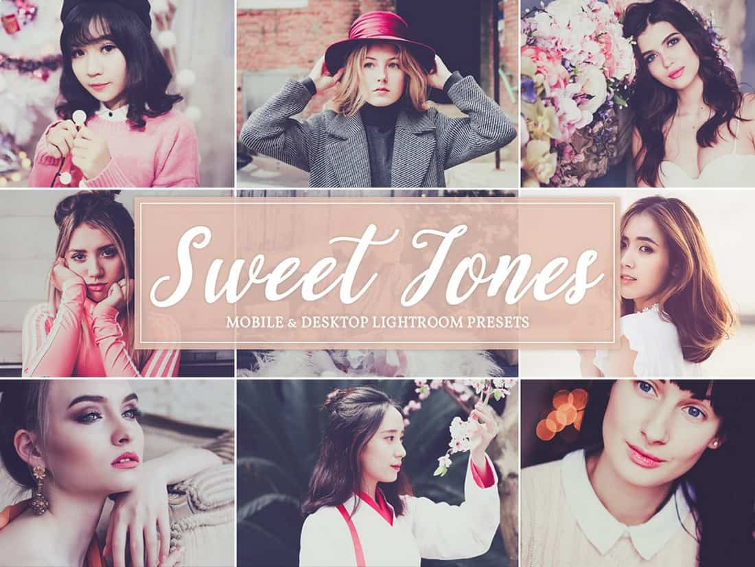 Sweet Tones Free Lightroom Presets