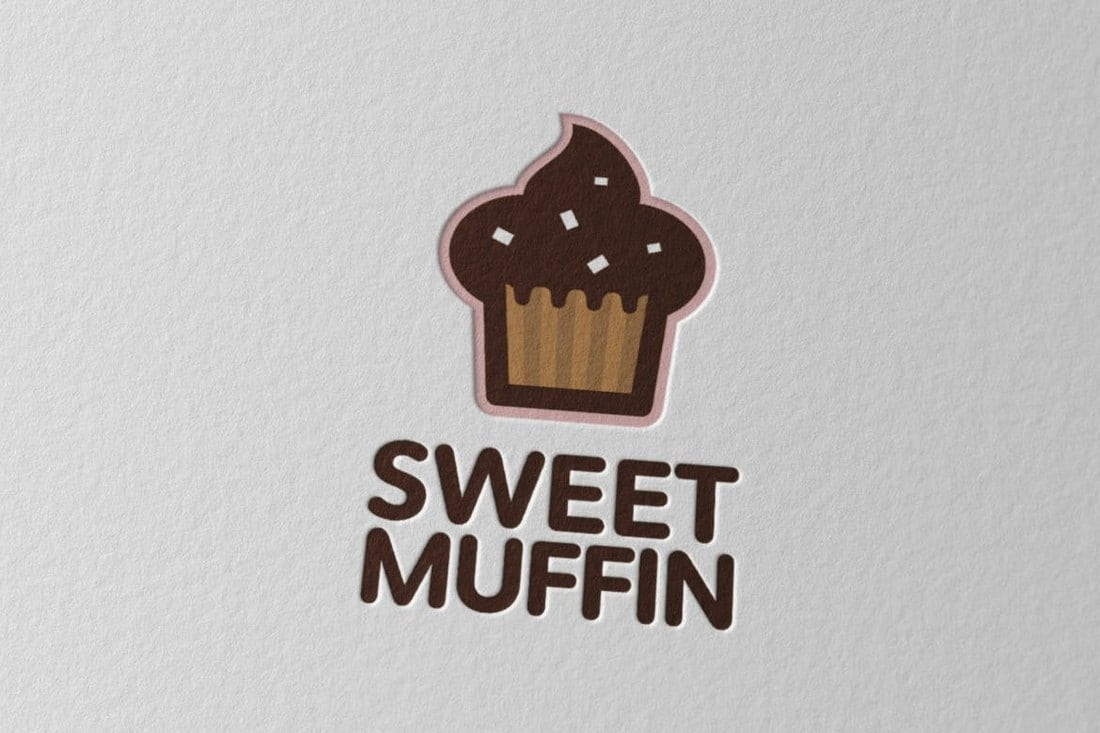 Sweetmuffin-Logo 40+ Best Photoshop Logo Templates (PSD) design tips