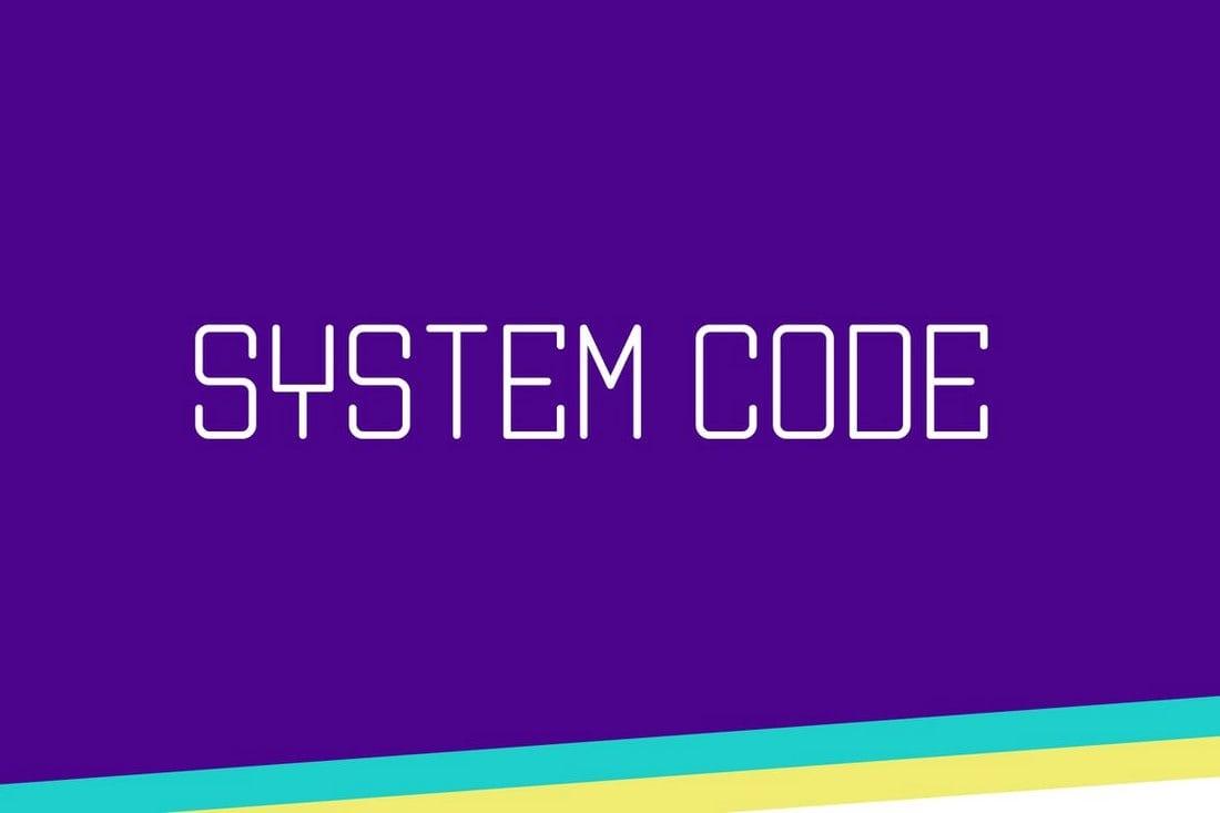 System-Code 30+ Best Fonts for Business Cards design tips