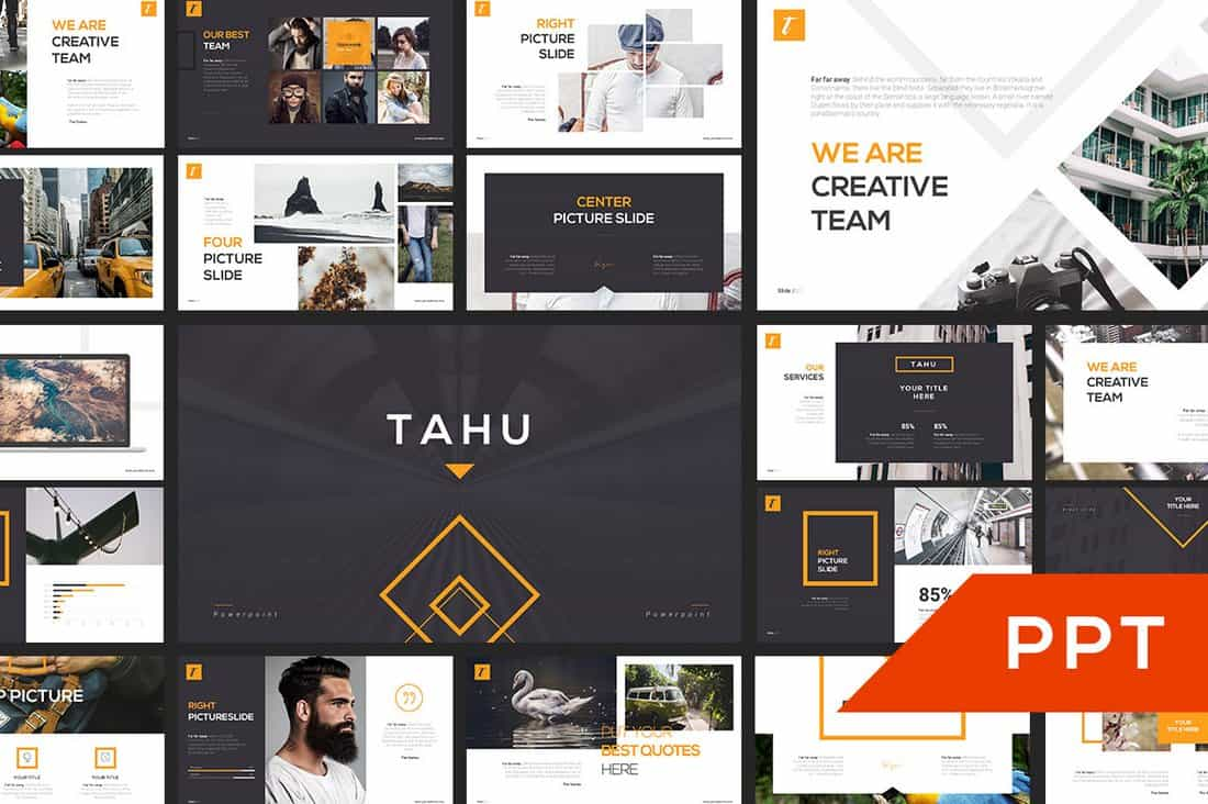 TAHU - FREE PowerPoint Presentation Template