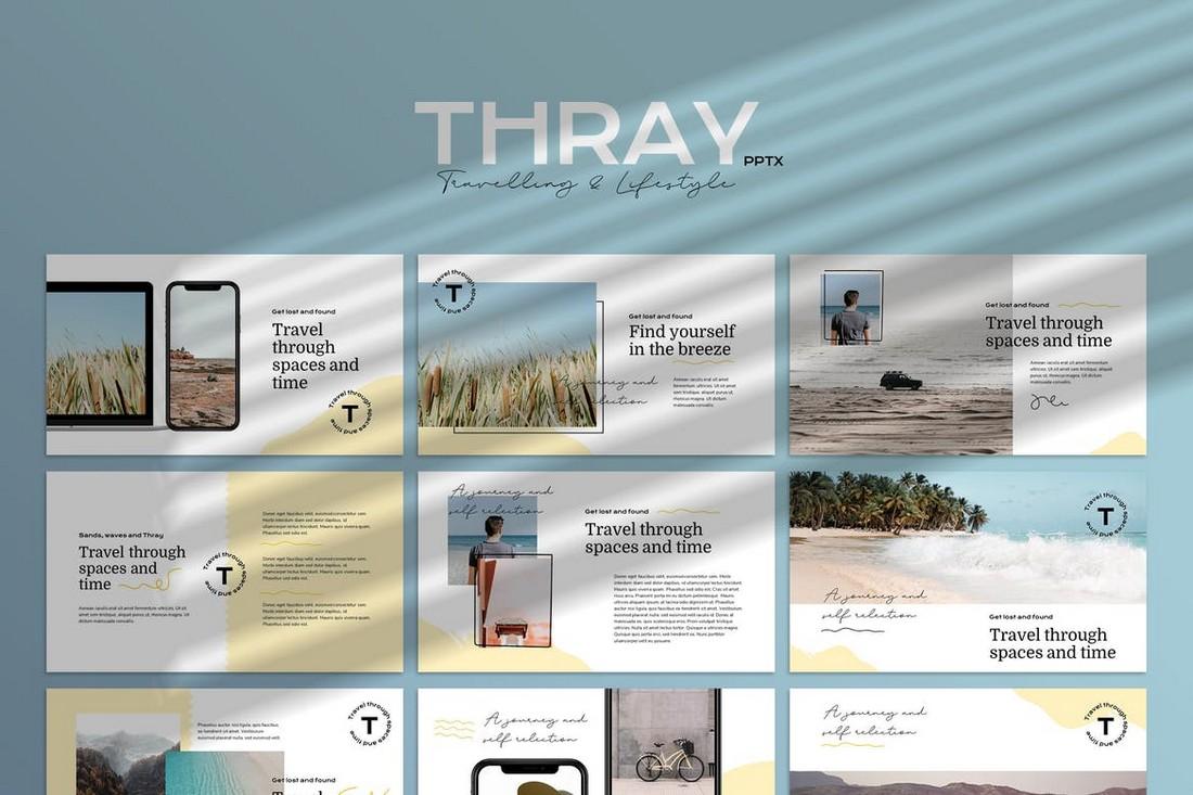 THRAY - Modern Google Slides Template