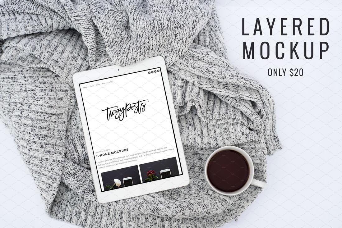 Tablet-PSD-Mockup 100+ iPad Mockups: PSDs, Photos & Vectors design tips