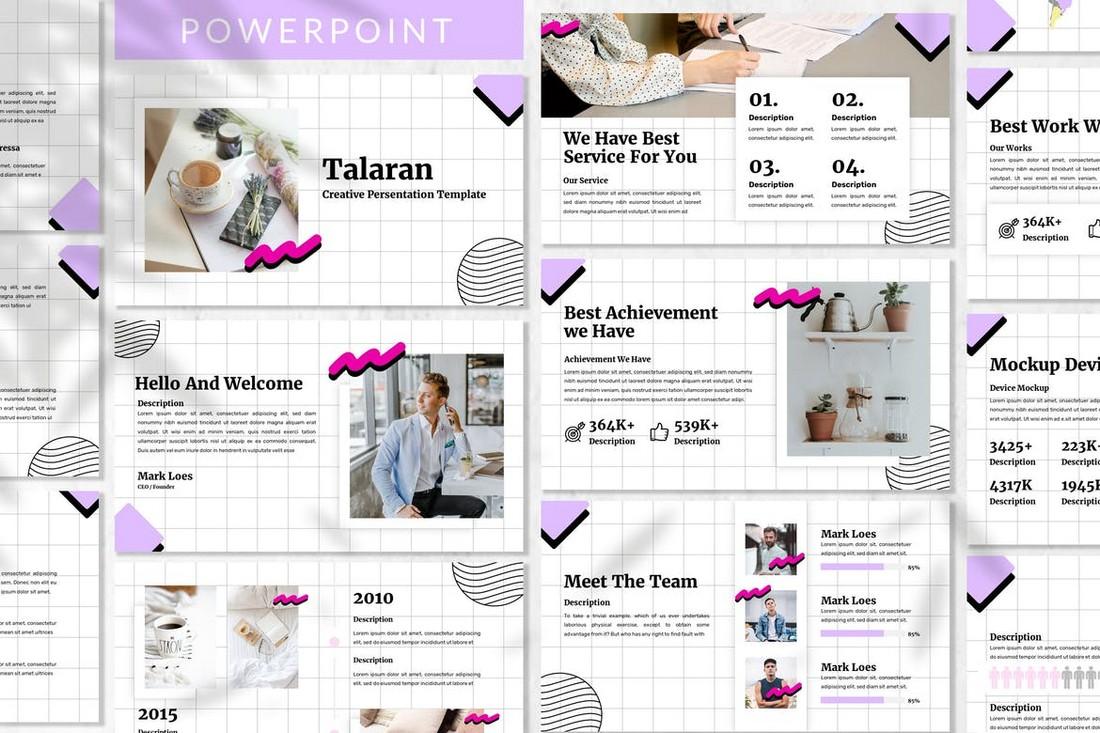 Talaran - Creative Powerpoint Template