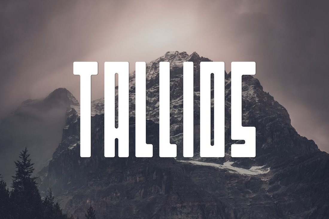 Tallios-Font 30+ Best Fonts for Posters design tips