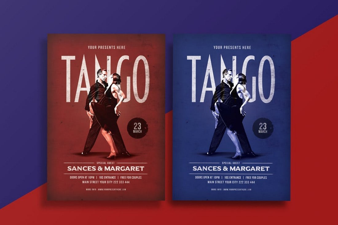 Tango-Dance-Flyer 20+ Best Club Flyer Templates design tips  Inspiration