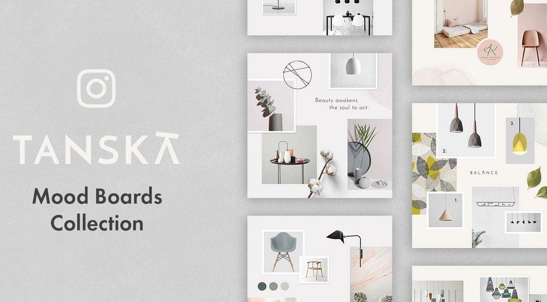 Tanska - Free Creative Instagram Templates